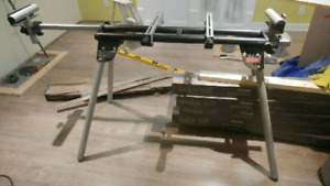 Folding Mitresaw Stand