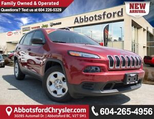 2015 Jeep Cherokee Sport Accident Free!