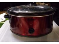 Family slow cooker red