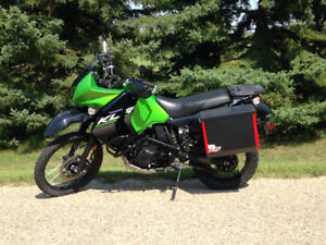 2014 Kawasaki KLR650 New Edition - Like New Adventure Ready
