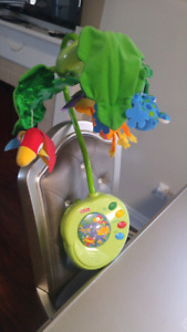 Fisher Price Rainforest Peek-a-boo Leaves Musical Mobile