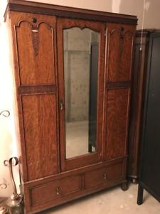 Old antique cabinet