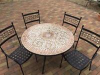 M&S Verona Table & 4 Chairs