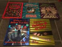 5 Ripley's Believe it or Not! Books