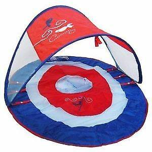 Swimways baby spring float canopy boat