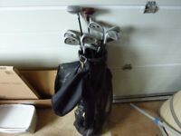 Howson golf clubs in bag