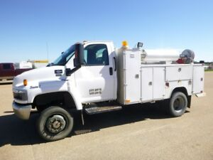 2007 GMC C5500 4×4 SERVICE TRUCK - UP FOR AUCTION