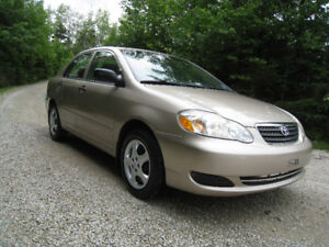 2007 Toyota Corolla - A/C - Cruise - UnderCoated From New!