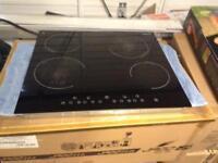 Ceramic cooker hob