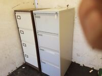 4 drawer lockable filing cabinets