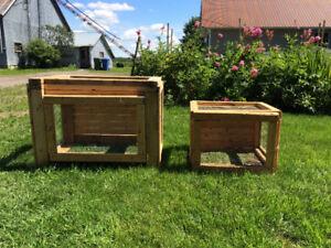 Cages à lapins