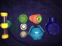 Various hamster/ small pet items