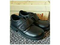 Boys startrite leather shoes NEW