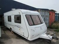 Elddis Avante 524 Special Edition 2006 4 berth end bathroom