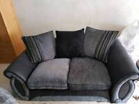 Charcoal 3 seater DFS sofa