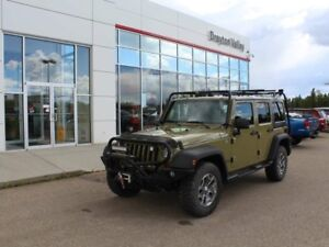 2013 Jeep Wrangler Unlimited Manual Rubicon, light bars!