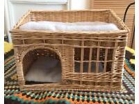 Wicker bed - Pet. Cat.