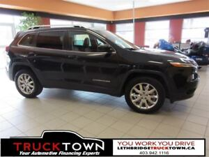 2014 Jeep Cherokee LOADED WITH HEATED LEATHER SEATS