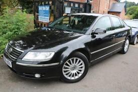 2006 VW Phaeton 3.0 V6 TDI 4MOTION Black Fully Loaded FSH Finance Available
