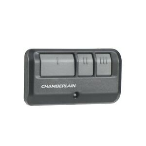 Manette ouvre porte garage chamberlain a 3 boutons.