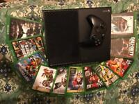 Xbox one plus 11 Games