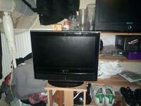 15 inch hdtv with remote lcd screen.