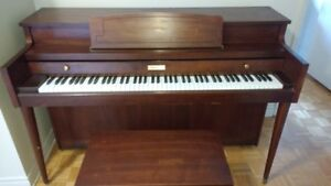 Schuerman Apartment size piano