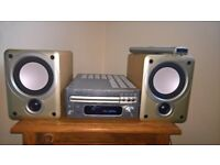 Denon CD Amplifier and speakers