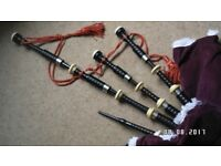 Vintage bagpipes Glasgow made