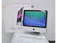"Core 2.4ghz 20"" Apple iMac Desktop 4gb Ram 320gb Logic Pro X Ableton Reason Adobe Suite 2017 iZotope"