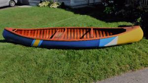 Northland Canvas Cedar Strip Canoe