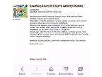 Leapfrog jumping activity station