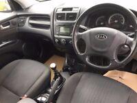 2009 Kia Sportage 2.0 CRD diesel XE, 86000 miles FSH, NEW CLUTCH AND FLYWHEEL, mot May 2018 Black