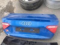 Audi a5 s5 boot lid