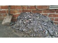 FREE Bangor Blue broken slate pieces
