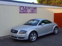 2001 AUDI TT 1.8 TURBO 225 BHP NATIONWIDE DELIVERY CARD FACILITY WARRANTY PART EX AVAILABLE