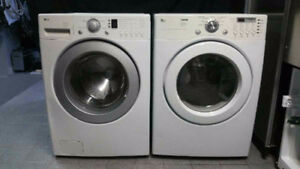 DUO LAVEUSE SECHEUSE FRONTALE LG WASHER DRYER