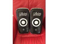 Fairtex Curved Standard Muay Thai Boxing Kick Pads