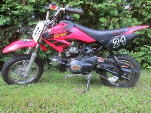KIDS DIRT BIKE,SEMI AUTO