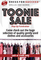 Dress for Success Pop-Up Toonie Sale