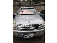 Ssangyong rexton rx270 sx5, 2005, automatic, diesel, low mileage, long mot.and f/s/h