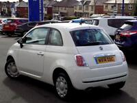 FIAT 500 1.2 POP 3dr * Low Miles Example + Only 30 RFL * (white) 2014