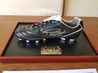 Signed Football Boot (Sir Geoff hurst) England World Cup Winner - £125