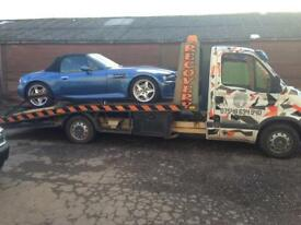 VEHICLE TRANSPORT & RECOVERY SERVICE BREAKDOWN COLLECTION LOCAL & NATIONAL