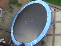 12ft Jaques Jump star Trampoline, only used in summer, stored internally for winter months