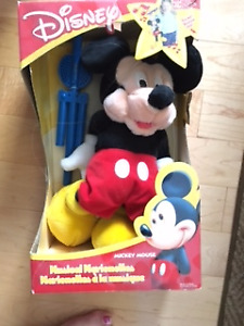 Mickey Mouse Puppet