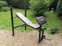 Maximuscle Bench with Preacher Curl and Leg Extension (Delivery Available)