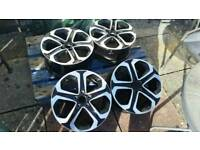 Alloy wheels 5×114.3 good condition