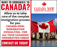 Canada Now, Immigration Consulting - FREE 30 min. consultation!