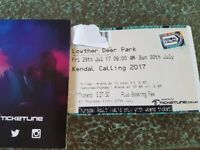 Kendal Calling, 2 Adult Thursday Entry Tickets. £80
